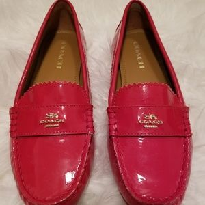 Coach Patent Leather Loafets